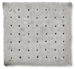 square biscuit of hardtack