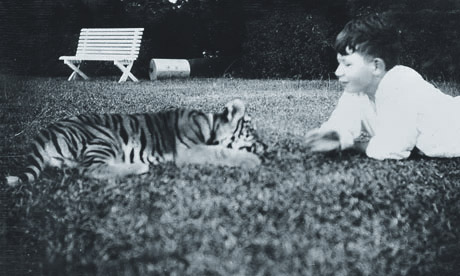 A young Tiggy with his boy, Johnny Wilding